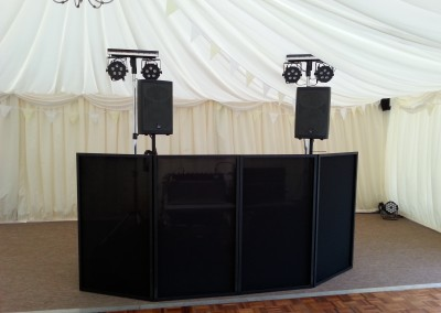Mark Parker DJ Set Up