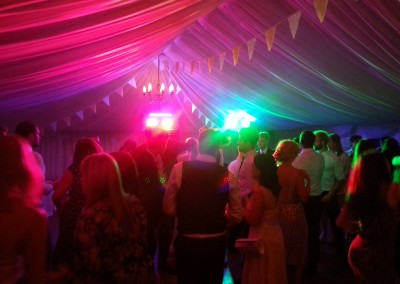 Packed Marquee Dance Floor
