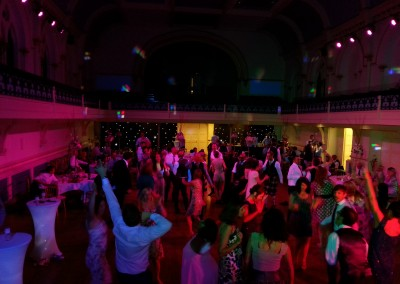 Dance Floor At Winchester Guildhall