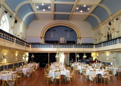 Winchester Guildhall Before Guests Arrive