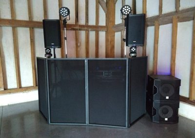 DJ Setup Southend Barns