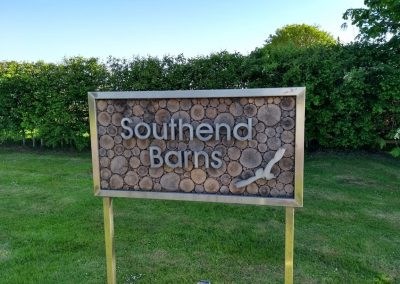Southend Barns Sign