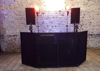 DJ Set Up Cissbury Barns